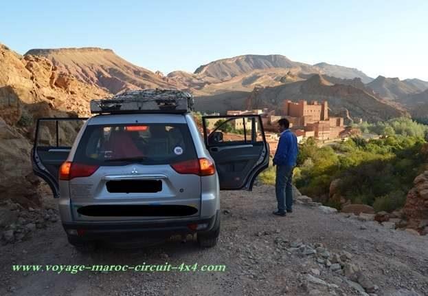 Randonnée 4x4 sud marocain