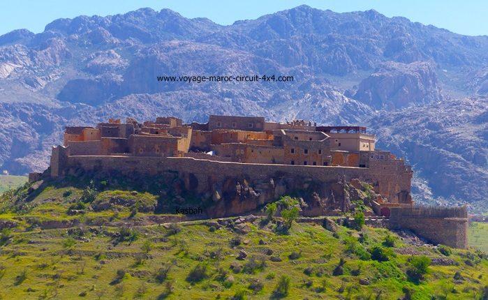 la Kasbah de Tizourgane